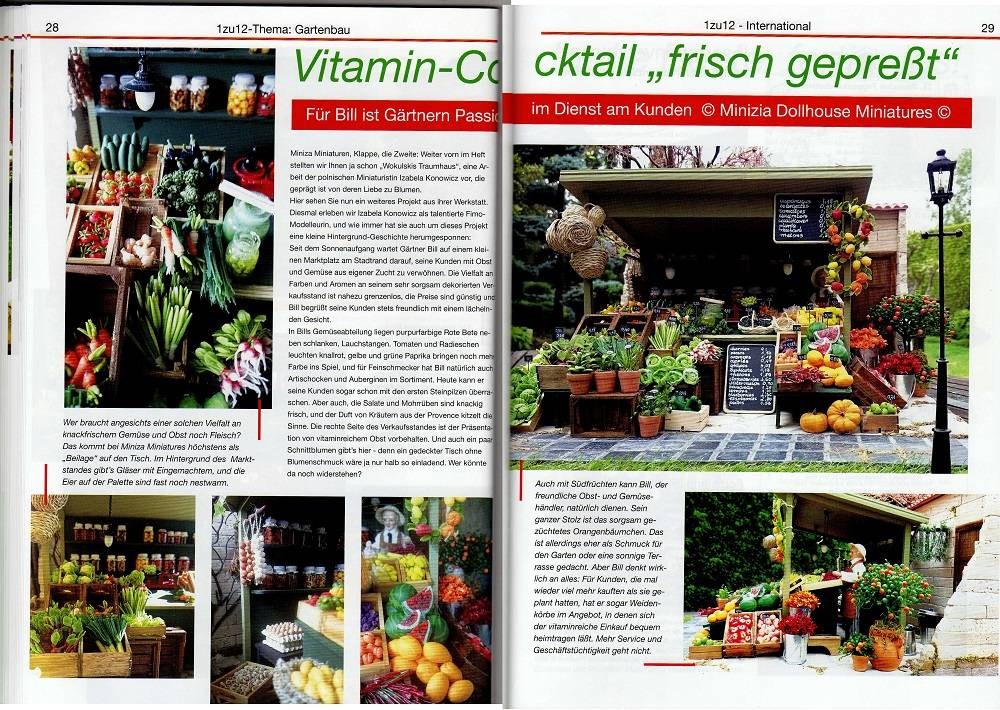 Articles in 1zu12 Das Magazin Nr. 97  May/June/July 2018